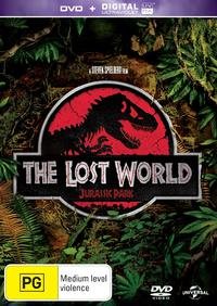 The Lost World: Jurassic Park (DVD) - Cover