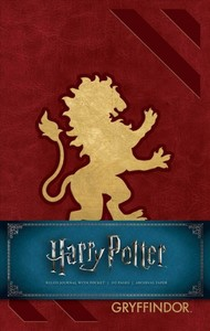 Harry Potter Gryffindor Hardcover Ruled Journal - Insight Editions (Notebook / blank book) - Cover