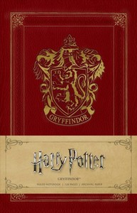 Harry Potter: Gryffindor Ruled Notebook - Insight Editions (Notebook / blank book) - Cover
