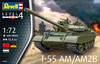 Revell 1:72 - T-55AM/T-55AM2B Soviet Main Battle Tank (Plastic Model Kit)