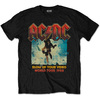 AC/DC Men's Tee: Blow Up Your Video (Large)