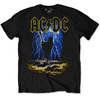 AC/DC Men's Tee: Highway to Hell Clouds (X-Large)
