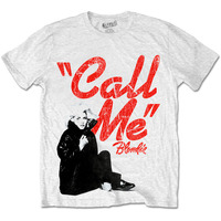 Blondie Men's Tee: Call Me (X-Large) - Cover