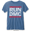 Run DMC Men's Fashion Tee: Vintage Logo (Burn Out) (Medium)
