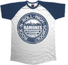 Ramones - Bowery NYC Short Sleeve Raglan Mens T-Shirt (XX-Large)