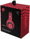 Razer - PewDiePie Razer Kraken Pro V2 Oval - Red (PC/Gaming)