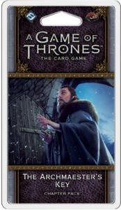 A Game of Thrones: The Card Game (Second Edition) - The Archmaester's Key (Card Game) - Cover