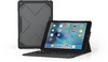 Zagg Rugged Messenger Bluetooth Keyboard for iPad 9.7 Inch - Black (2017)