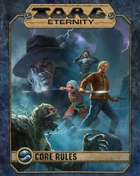 Torg Eternity - Core Rules (Role Playing Game) - Cover