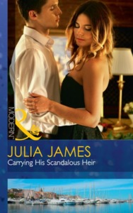 Carrying His Scandalous Heir - Julia James (Paperback) - Cover