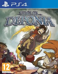 Chaos on Deponia (PS4) - Cover