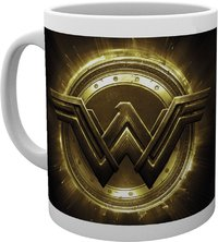 Justice League - Wonder Woman Logo Mug - Cover