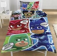 PJ Masks - Panel Duvet (Single) - Cover
