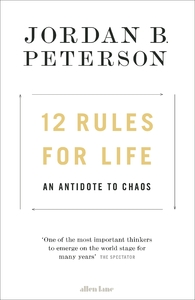 12 Rules For Life - Jordan B. Peterson (Hardcover) - Cover