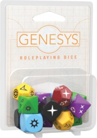 Genesys: Roleplaying Dice Pack (Role Playing Game) - Cover