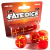Fate Core Dice: Fire Dice