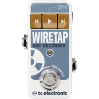 TC Electronic Wiretap Riff Recording Electric Guitar Pedal with App