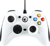 NACON - Vibrating Gaming Wired Controller - White (PC)