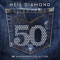 Neil Diamond - 50th Anniversary Collection (CD) - Cover