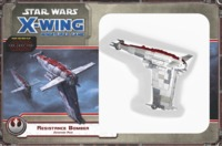 Star Wars: X-Wing Miniatures Game - Resistance Bomber Expansion Pack (Miniatures) - Cover