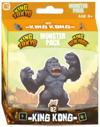 King of Tokyo/New York: Monster Pack - King Kong (Board Game) - Cover