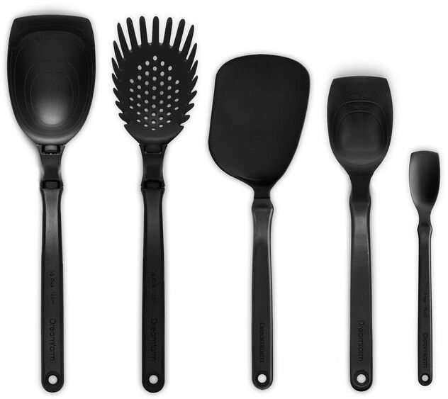 dreamfarm set of the best kitchen utensils charcoal back - Best Kitchen Utensils