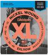 D'Addario EXL110W 10-46 Nickel Wound Regular Light with Wound 3rd Electric Guitar Strings