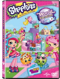 Shopkins: World Vacation (DVD)