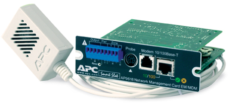 APC UPS Network Management Card with Environmental Monitoring and Out of  Band Management