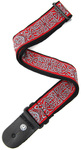 Planet Waves 50A07 2 Inch Woven Celtic Strap (Red and Grey)