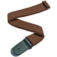 Planet Waves 50CT04 2 Inch Cotton Strap (Brown)