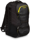 Targus Work and Play Fitness 15.6 Inch Notebook Backpack - Black and Yellow