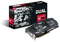 ASUS Dual series Radeon RX 580 OC edition 4GB GDDR5 Graphics Card - Cover
