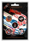 Judas Priest 'Turbo' Button Badge Pack (Five Button Badges)