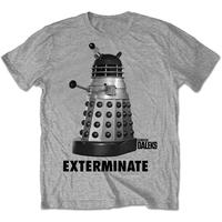 Studio Canal  Exterminate Mens Grey T-Shirt (X-Large)