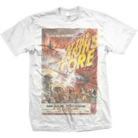 Studio Canal At the Earths Core Mens White T-Shirt (Large)