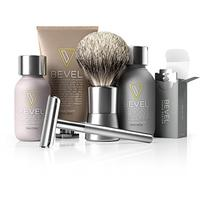 Bevel Shave System. Safety Razor, Shave Cream, Oil, Balm and 20 Blades. Clinically Tested (Health and Beauty)