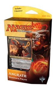 Magic: The Gathering - Rivals of Ixalan Planeswalker Deck - Angrath, Minotaur Pirate (Trading Card Game) - Cover