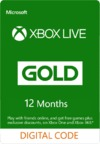 Xbox Live 12 Months Gold Membership (Xbox 360/Xbox One)