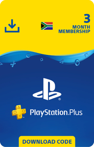 PlayStation Plus 3 Month Membership (PS3/PS4/PS VITA)