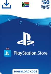 PlayStation Store Wallet Top Up - R50 (PS3/PS4/PS VITA) - Cover