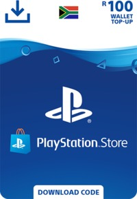 PlayStation Store Wallet Top Up - R100 (PS3/PS4/PS VITA) - Cover