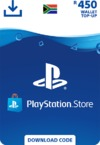 PlayStation Store Wallet Top Up - R450 (PS3/PS4/PS VITA)