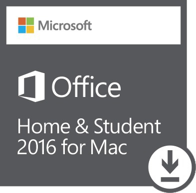Microsoft Office Home Student 2016 For Mac Cover