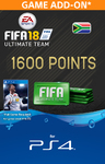 FIFA 18 Ultimate Team Digital - 1600 Points (PS4 Download)