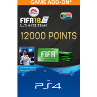 FIFA 18 Ultimate Team Digital - 12000 Points (PS4 Download)