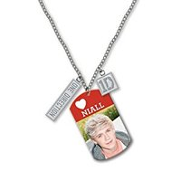 """One Direction 16"""" Tag Necklace (Niall) - Cover"""