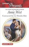 Contracted for the Petrakis Heir - Annie West (Paperback)