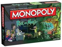 Monopoly: Rick and Morty Edition (Board Game) - Cover