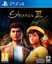 Shenmue III (PS4) - Cover